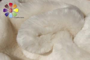 Чем почистить натуральный белый мех в домашних условиях